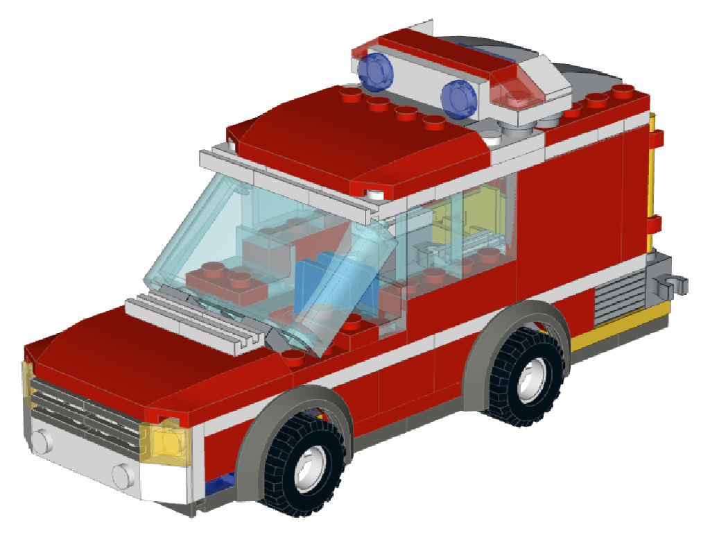 Moc Fire Truck To Fire Wagon Alternate Build Lego Town